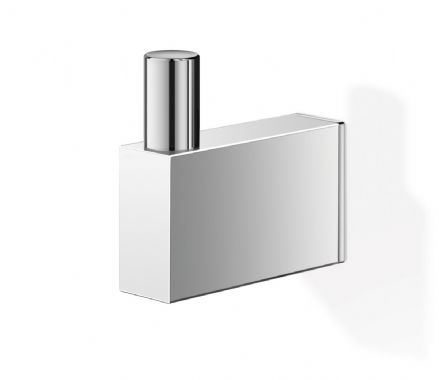 Zack Linea 4.5 cm Polished Steel Towel Hook - 40036